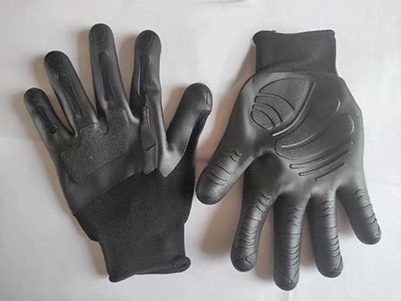TPE粘无纺布手套 (1)
